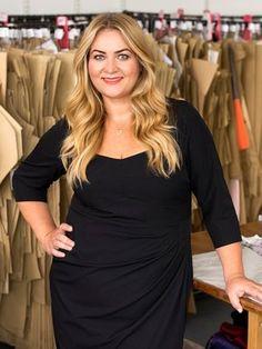 65d24d5e67e Designerin Anna Scholz   Anna Scholz in GALA magazine - Plus Size Designer  Designer Plus Size