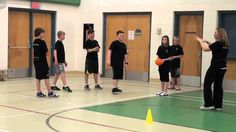 Can't Touch This. In this small-sided invasion game, participants have opportunities to practice offense and defense that can be applied to numerous sports.