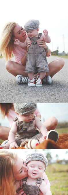 baby photos... Converse and overalls? I'm in love