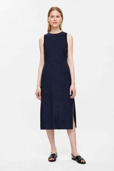 COS | Mid-length sleeveless dress