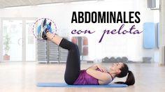 Ejercicios de abdominales con pelota