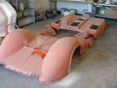 1: Chaparral 2E construction: mold