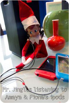 Our Elf on a Shelf Mr. Jingles
