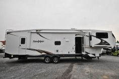 New 2013 Sandpiper 366FL 5th Wheel Trailer 4 Slides Sleeps 6 King Bed | eBay Forest River