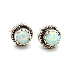Opal Stud Earrings – Child of Wild