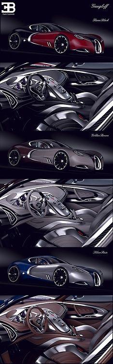 #Bugatti Gangloff Concept