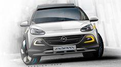 Studie vom Opel Adam Rocks
