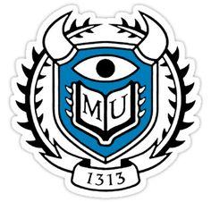 Monsters University Logo by Merwok