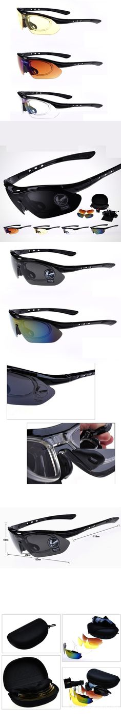 5 Lens Sunglasses Set for Men Lentes de Sol Hombre UV400 Polarizing Sunglasses Shades Oculos de Sol Masculino Polarizado