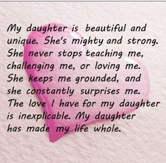 My daughter has been my rock..  she is the reason I get up and keep going. My dear sweet Madi.. you are amazing.