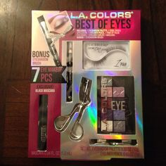 Best of Eyes Make Up Never used. Contents are listed in pics. L.A Colors Makeup Eyeshadow