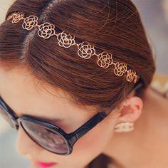 $0.81 (Buy here: https://alitems.com/g/1e8d114494ebda23ff8b16525dc3e8/?i=5&ulp=https%3A%2F%2Fwww.aliexpress.com%2Fitem%2Faccesorios-para-el-pelo-Korean-Hollow-Hair-Band-2016-Cute-Women-Elastic-Flower-Headband-Girls-Hair%2F32757414777.html ) Trendy Korean Hollow Elastic Hair Bands Cute Women Flower Headbands Girls Hair Accessories Wedding Headwear diademas para mujer for just $0.81