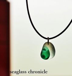 緑の芽吹きのペンダント|Creator: seaglass chronicle|Creema