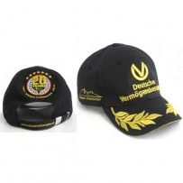 MICHAEL SCHUMACHER BLACK 20TH ANNIVERSARY DVAG HAT I need one of those!!!