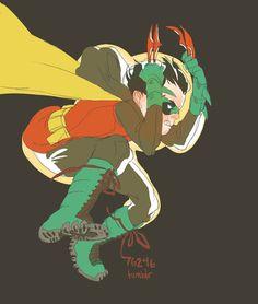 Robin - Damian