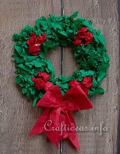 Christmas Craft - Paper Wreath