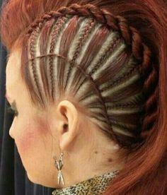 Love the braid style