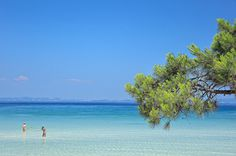 Halkidiki | Vourvourou - Karidi. Shaped like Poseidon's tr… | Flickr