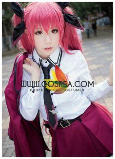 Date A Live Kotori Itsuka Commander Cosplay Costume