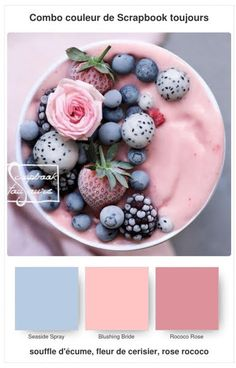 #18 Combo COULEUR de Scrapbook toujours Stampin Up, Scrapbook, Blueberry, Fruit, Food, Color, Berry, Essen, Stamping Up