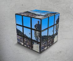 Tbilisi in Kubik Rubik, digital art by Levan Tchkonia - Ego - AlterEgo Invite Your Friends, Decorative Boxes, Digital Art, Graphic Design, Photography, Travel, Voyage, Viajes, Traveling