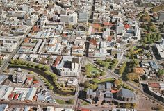 Christchurch City, New Zealand.