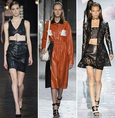 Spring/ Summer 2015 Fashion Trends: Leather|www.fashionisers.com #2015fashiontrends