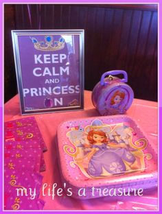 My Life's a Treasure: Sofia the First Birthday Party
