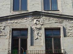 Facades in Riga, a #local art-form #FriFotos