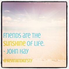 Friends sure do bring a lot of sunshine into your life! If they don't, they're not really friends! ;) #friendship #love #friends #quote #sunshine #yellow #motivation #inspiration