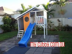 This sweet little duplex gives the kids enough space to enjoy it and play in it but also leaves plenty of room in the backyard for the kids and pets to run around.#MyCubby #CubbyHouse #CubbyLayby #AussieCubbies #CubbyPlay #OutsidePlay #ChristmasLayby #Layby #christmasideas #Australia