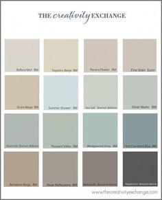 Perfect Interior Paint Palette
