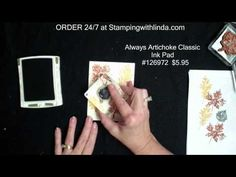 triple stampin with a twist- video