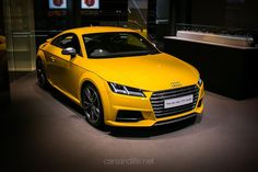 Audi TTS Coupe from Audi City Mayfair London