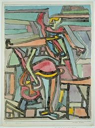 Paul Klee German, born Switzerland, 1879-1940  Artistic Comedy, 1932