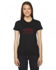 kramerica industries Ladies Fitted T-Shirt