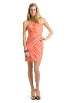 Assortment of coral dresses