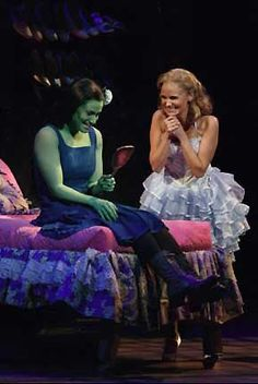 """Why, Miss Elphaba, look at you... You're beautiful."""