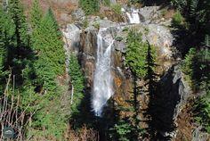 Keekwulee Falls near Snoqualmie Pass