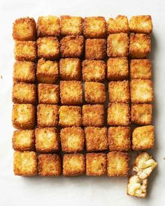 Fried Macaroni-and-Cheese Bites