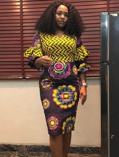 Check Out This Beautiful Ankara Short Gown Styles 2018 / 2019 Check Out This Beautiful Ankara Short Gown Styles 2018 / 2019 .Check Out This Beautiful Ankara Short Gown Stymles 2018 / 2019 Latest African Fashion Dresses, African Print Dresses, African Print Fashion, African Dress, Ankara Fashion, African Prints, Nigerian Fashion, Africa Fashion, African Fabric