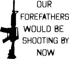 FOREFATHERS PISTOL PRO GUN PISTOL 2ND AMENDMENT T-SHIRT