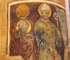 Beheaded saint - fresco Santa Anastasia, Verona, Fresco, Saints, Italy, Painting, Beautiful, Art, Craft Art