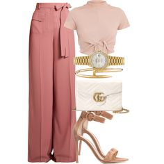 A fashion look from July 2017 by mariandradde featuring Gianvito Rossi, Gucci, Rolex and Cartier Mode Outfits, Cute Casual Outfits, Stylish Outfits, Fashion Outfits, Womens Fashion, Fashion Trends, Fashion Clothes, Fashion Tips, Work Fashion