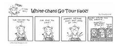 White-chans Go Tour Liaoz comics #5