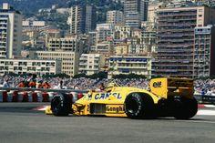 Ayrton Senna Lotus - Honda Monaco 1987