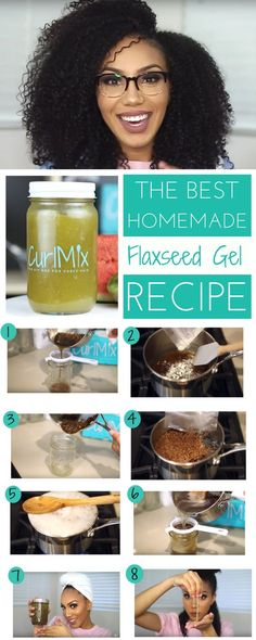 Make the BEST Flaxseed Gel and it's super easy!