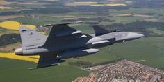 La República Checa modernizará su flota de cazabombarderos Saab Gripen-noticia defensa.com