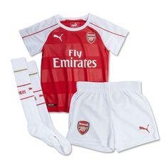 Puma Arsenal Home  15- 16 Toddler Mini Kit (High Risk Red White) b08b3b4c5