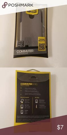NWT Otter Samsung Galaxy S4 Commuter Cell Case NWT OtterBox Samsung Galaxy S4 Commuter Cell Case-gray OtterBox Accessories Phone Cases